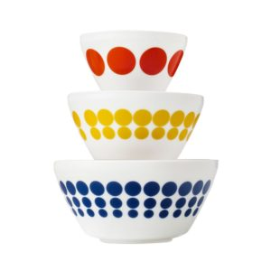 Vintage Charm Spot-On 3 Piece Mixing Bowl Set
